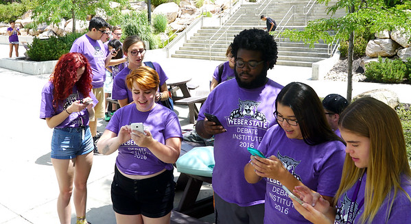 Pokemon Craze on Ogden Campus