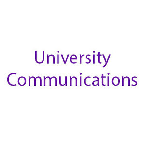 University Communications folder tag, May 2014, designer Melissa Smith