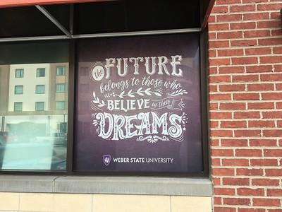 Weber State windows