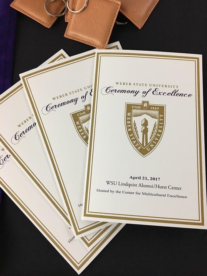 Ceremony of Excellence Program