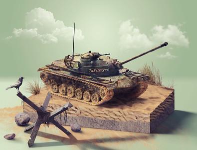 M48A2 Patton Tank