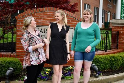 Laura Hundley, Sami Taylor, and  Paige Leonard