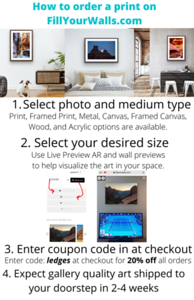 How to order a print on FillYourWalls.com