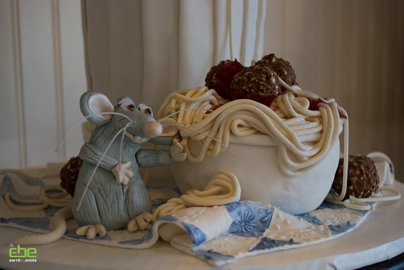 Wedding cake display at What a Dish, Dana Point, CA 2.14.15