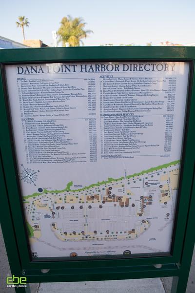 Dana Point Harbor Directory, Dana Point, CA 2.14.15