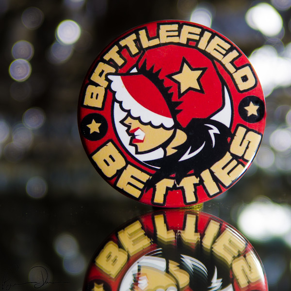 Battlefield Betties Pin