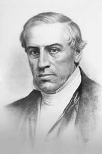 Reverend Emerson Davis, Principal, 1844 - 1846  •Leading the effort to have the school reopened and relocated in Westfield was Reverend Emerson Davis, pastor of First Congregational Church, and William Gelston Bates, a Westfield attorney and a member of the House of Representatives. •Bates turned the tide in Boston using his legal skills and stamina to locate the school in Westfield. The school reopened on September 4, 1844, with Emerson Davis, a graduate of Williams College, as principal.