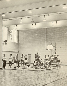 Men's Gymnastics  Parenzo Hall Gym, 1957