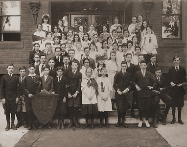 Westfield Normal Training School Students 1917