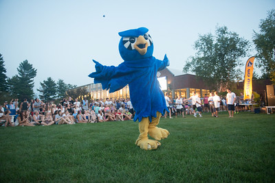 Opening Day 2014 Pep Rally on the Campus Green