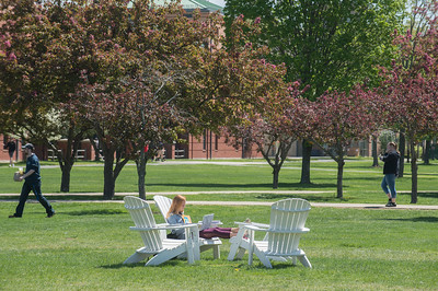 Spring Stock images at Westfield State University, Spring 2017