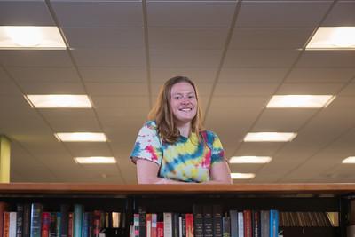 Westfield State University student Jennifer Ashton