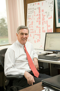 Jerry Hayes, Vice President of Administration and Finance at Westfield State University