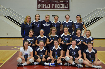 Fall sports review photoL  The 2011 Westfield State University women's volleyball team won its third straight conference championship and participated in its third consecutive NCAA Tournament.