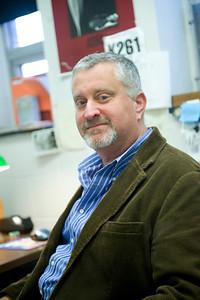 Roger Tudor, Psychology Professor at Westfield State University