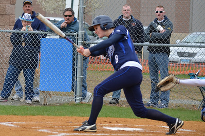 Kerin DeGirolamo was a school record setting two-sport (softball/volleyball) standout for Westfield State University during the past four years. In softball she set school records for hits in a career and season.