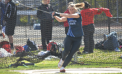 Amanda Gricus shattered school records in the hammer throw and 20-pound weight throw. She was the 2012 MASCAC Scholar-Athlete of the Year and an Academic and NCAA All-American.
