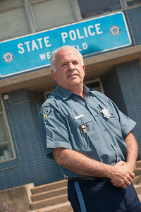 Tim Sicard, Massachusetts State Trooper, and Westfield State University Criminal Justice Alumni
