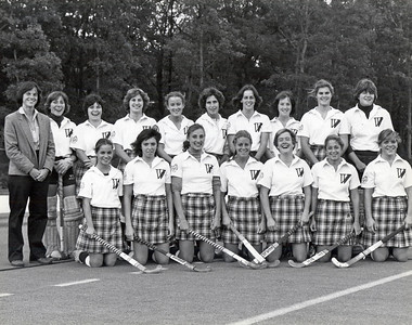 Possible good photo  for Janice Beetle history of athletics article: Westfield State field hockey team placed third in the 1981 NCAA Division III national championships. NOTE: I might be able to get the names of those picutred in the photo if you plan to use it.
