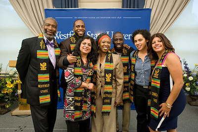 SANKOFA stolling ceremony at Westfield State University 2013