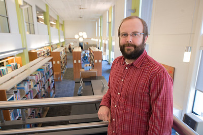 """Charles """"Ed"""" Hill, Assistant Librarian, Westfield State University"""