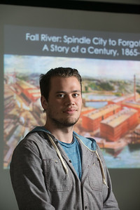 Westfield State University student Zachary Carlson.