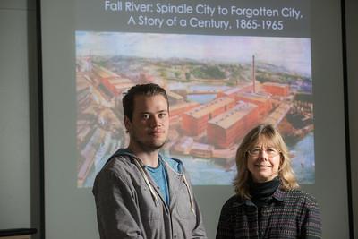 Westfield State University student Zachary Carlson, and History Professor Mara Dodge.