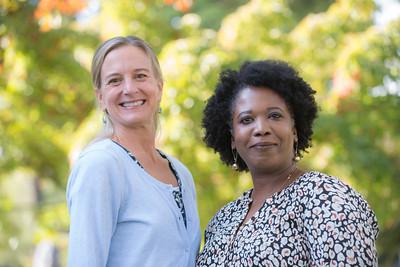 Susan Leggit and Christina Swaiden