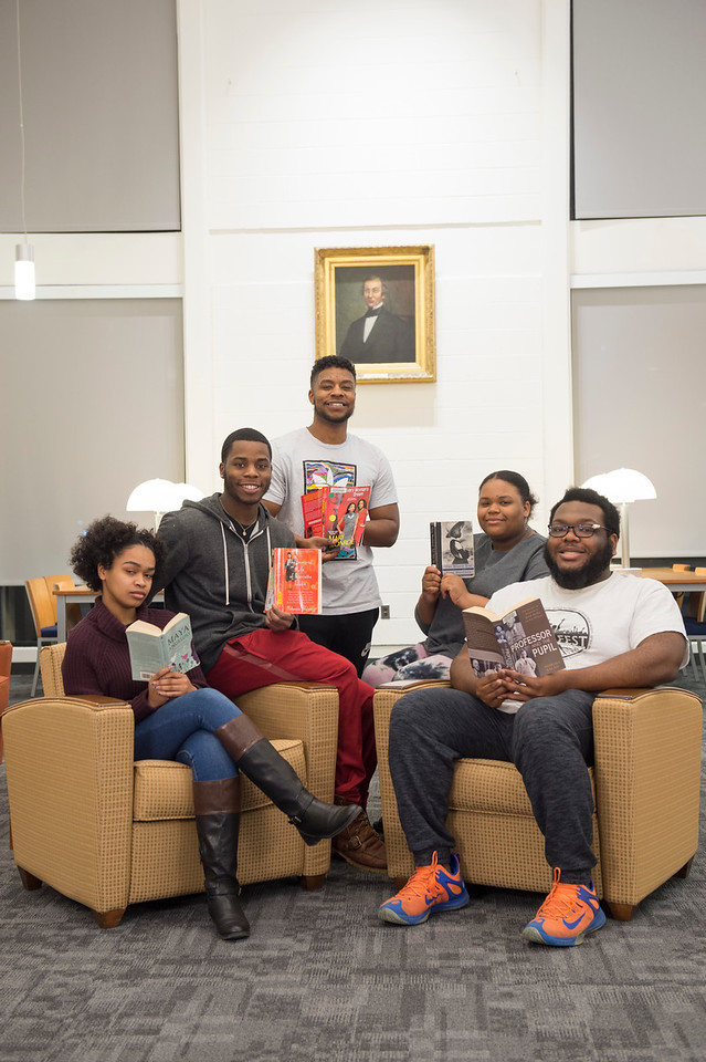 Library READ- Black Student Union