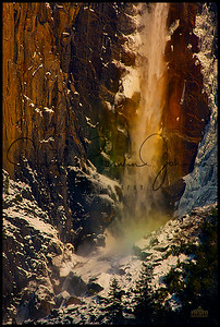 Bridalveil-Winter Rainbow