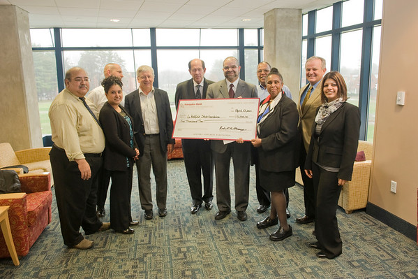 Hampden Bank Donation to WSU Foundation