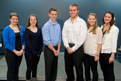 Cast of Westfield State University's SGA production of Dances With The Stars, January 2013