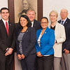 Westfield State University swears in new trustees.