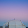 Mexico. San Ignacio Lagoon. Moon rising above.