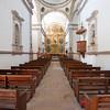 Mexico. San Ignacio. Mission San Ignacio Church. Indoor image of church.