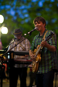 Ben Fuller performs at Caras Park in Missoula, MT on July 23rd, 2010