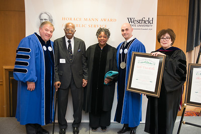 The 2016 Horace Mann Awards for Community Service at Westfield State University, April 2016