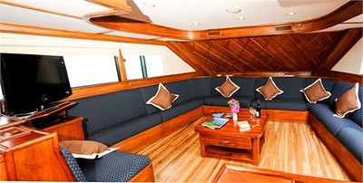 Galapagos Cruises - Letty Interior