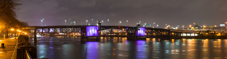 Morrison Bridge - Pancreatic Cancer Day