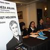 Reza Aslan Sign-in Table