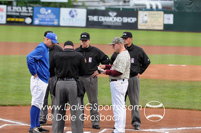 Image #1262   May 27, 2013; Harris Field Complex,Lewiston, ID; Lee (TN) Flames vs. Embry-Riddle (FL) Eagles.  Game 12, 57th Annual Avista NAIA Baseball World Series  Mandatory Credit: Dale Grosbach-Dale G Sports