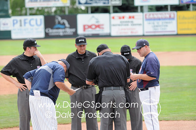 Image #0029   May 28, 2013; Harris Field Complex,Lewiston, ID; Lee (TN) Flames vs. Missouri Baptist Spartans.  Game 14, 57th Annual Avista NAIA Baseball World Series  Mandatory Credit: Dale Grosbach-Dale G Sports