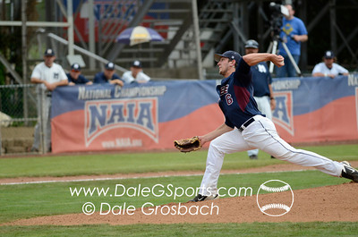Image #0235   May 28, 2013; Harris Field Complex,Lewiston, ID; Lee (TN) Flames vs. Missouri Baptist Spartans.  Game 14, 57th Annual Avista NAIA Baseball World Series  Mandatory Credit: Dale Grosbach-Dale G Sports