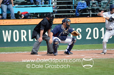 Image #0274   May 28, 2013; Harris Field Complex,Lewiston, ID; Lee (TN) Flames vs. Missouri Baptist Spartans.  Game 14, 57th Annual Avista NAIA Baseball World Series  Mandatory Credit: Dale Grosbach-Dale G Sports