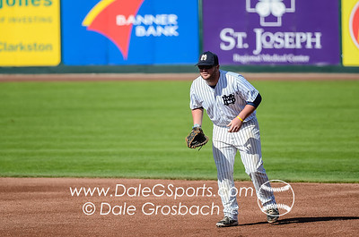 Image #0188   May 27, 2013; Harris Field Complex,Lewiston, ID; Rogers State (OK) DiamondCats vs. Missouri Baptist Spartans.  Game 9, 57th Annual Avista NAIA Baseball World Series  Mandatory Credit: Dale Grosbach-Dale G Sports