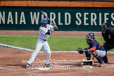 Image #0476   May 27, 2013; Harris Field Complex,Lewiston, ID; Rogers State (OK) DiamondCats vs. Missouri Baptist Spartans.  Game 9, 57th Annual Avista NAIA Baseball World Series  Mandatory Credit: Dale Grosbach-Dale G Sports