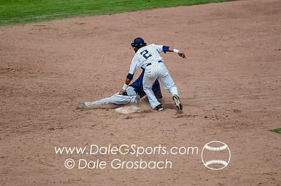 Image #1011   May 27, 2013; Harris Field Complex,Lewiston, ID; Rogers State (OK) DiamondCats vs. Missouri Baptist Spartans.  Game 9, 57th Annual Avista NAIA Baseball World Series  Mandatory Credit: Dale Grosbach-Dale G Sports