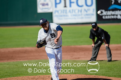 Image #0211   May 27, 2013; Harris Field Complex,Lewiston, ID; Rogers State (OK) DiamondCats vs. Missouri Baptist Spartans.  Game 9, 57th Annual Avista NAIA Baseball World Series  Mandatory Credit: Dale Grosbach-Dale G Sports