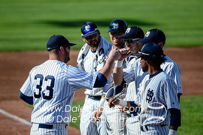 Image #0111   May 27, 2013; Harris Field Complex,Lewiston, ID; Rogers State (OK) DiamondCats vs. Missouri Baptist Spartans.  Game 9, 57th Annual Avista NAIA Baseball World Series  Mandatory Credit: Dale Grosbach-Dale G Sports