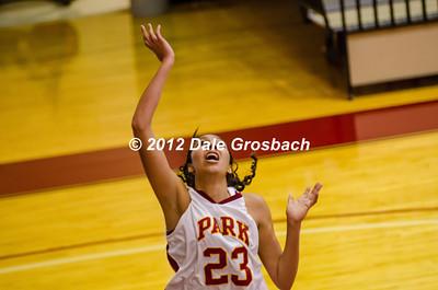 Image: 125_  November 17, 2012; Parkville, MO; Park (MO) Pirates vs. Oklahoma City (Ok) Stars.  Mandatory Credit: Dale Grosbach-Dale G Sports